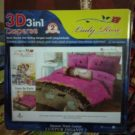 Sprei Lady Rose bantal 2/bantal 4