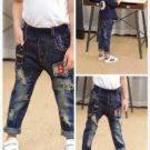 celana levis anak hitam sobek