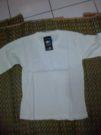 Baju Kaos Polos Lengan Panjang Putih