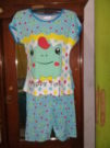 Baju Tidur Keropi Celana Pendek
