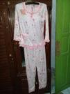 Baju Tidur Panda Pink